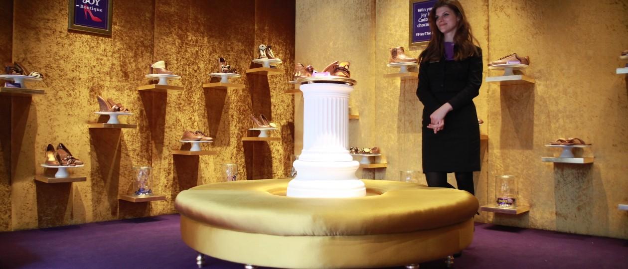 Cadbury Joy Boutique: Interior Shots By Moe Sawada